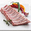 Costillas en tiras de cerdo fresco cruce raza duroc 100 gramos FACCSA