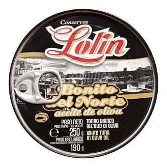 Conservas Lolin Tronco de bonito en aceite de oliva 190 g