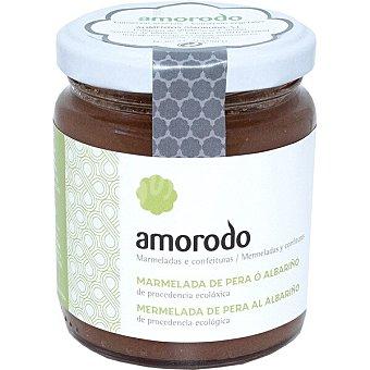 AMORODO Mermelada de pera al albariño de procedencia ecológica Frasco 245 g