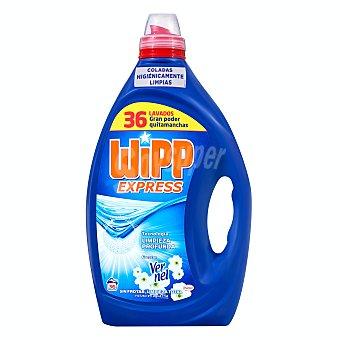 Wipp Express Detergente lavadora gel aroma vernel Botella 1,8 l (36 lavados)