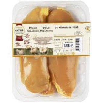 Eroski Natur Pechugas de pollo  2 unidades 0,5 kg