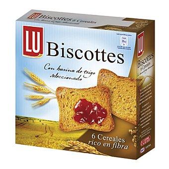 LU Tostadas Integrales Con 6 Cereales 34 Unidades (300 Gramos)