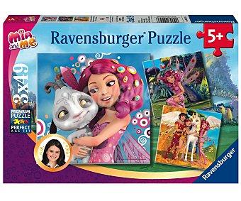 Ravensburger 3 Puzzles Infantiles de 49 Piezas RAVENSBURGER.