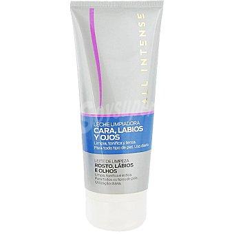 All Intense Leche limpiadora cara labios y ojos para todo tipo de piel tubo 200 ml limpia tonifica y tensa uso diario Tubo 200 ml