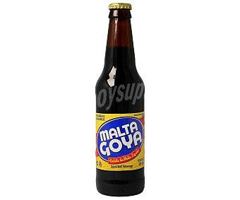 MALTA GOYA Bebida de malta líquida sin alcohol Botella de 33 centilitros