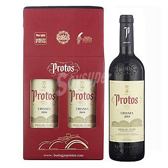 """Protos Estuche de vino D.O. """"ribera del Duero"""" tinto crianza Pack 2x75 cl"""