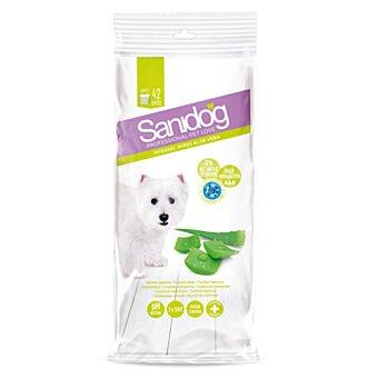 Sanidog Toallitas para perros Aloe Vera 42 ud