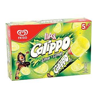 Frigo Calippo Polo helado sabor lima-limón Pack 5 u x 105 ml