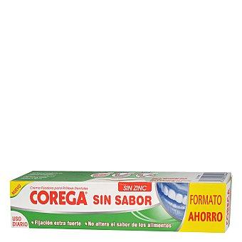 Corega Crema fijadora para prótesis dentales, sin sabor 70 Mililitros