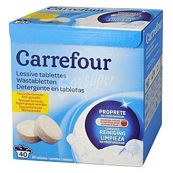 Carrefour Detergente en tabletas 40 lavados