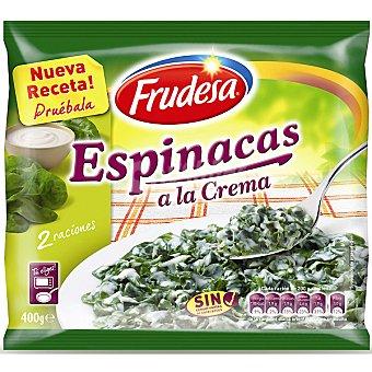 FRUDESA espinacas a la crema bolsa 400 g