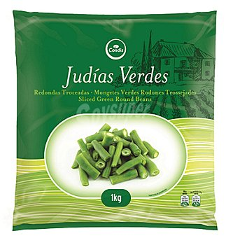 Condis Judia verde redond-trozos 1 KGS