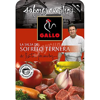 Gallo Salsa sofrito ternera sabores nuestros 140 g