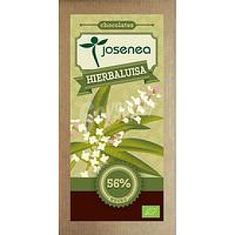 JOSENEA Chocolate nego con hierba luisa-limón Tableta 100 g