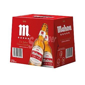 Mahou Cerveza 5 Estrellas Pack 12 x 25 cl