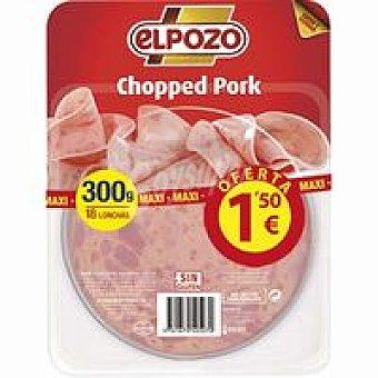 ElPozo Chopped de cerdo Bandeja 300 g
