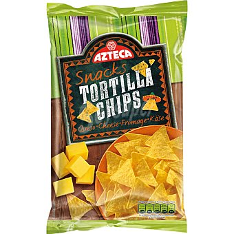 Azteca Tortilla chips queso Paquete 200 g