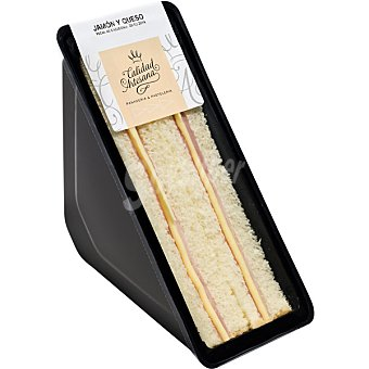 CALIDAD ARTESANA Sandwich de jamón y queso  Pieza 190 g