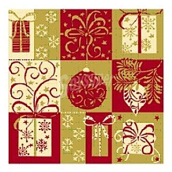 PAP STAR servilletas Christmas Symbols 3 capas 25x25 cm  paquete 20 unidades