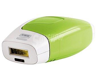 SILK'N GLIDE 50000 Depiladora de luz pulsada ipl, uso en cara y cuerpo, 50000 pulsos, modo manual y continuo, 5 niveles de intensidad, sensor de tono de piel