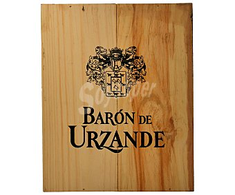 Baron de Urzande Vino Tinto Rioja Crianza Estuche 3 Botellas de 75 Centilitros