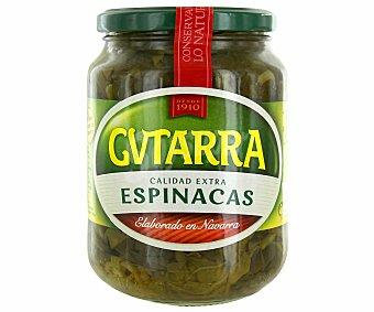 Gvtarra Espinacas calidad extra sin gluten Tarro de 425 gramos peso escurrido