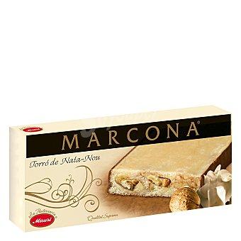 Marcona Turrón Marcona Nata y Nuez 250 gr