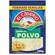 Queso rallado en polvo especial pasta 100 G 100 g El Caserío
