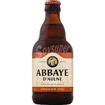 ABBAYE D'AULNE PREMIER CRU Cerveza rubia belga botella 33 cl 33 cl