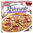 Speciale pizza con jamón, salami y champiñones  Estuche 330 g Ristorante Dr. Oetker