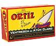 Ventresca de atún claro en aceite de oliva 80 g Ortiz