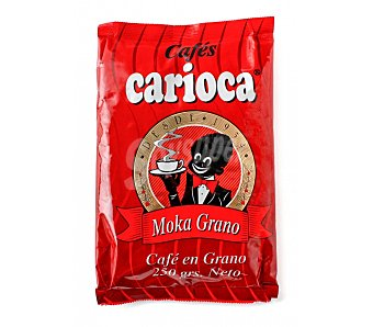 Carioca Cafe grano natural moka Paquete 250 g