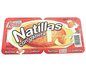 Kalise Natillas con Galletas Natillas c/Galleta2x125g