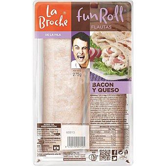 La Broche Flautas de bacon y queso 2 unidades (275 g)