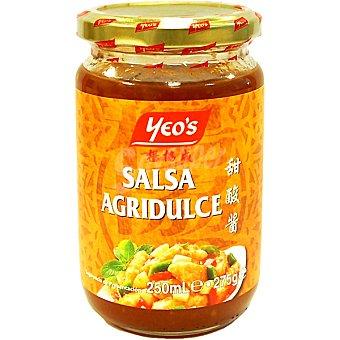 Yeos Salsa agridulce Frasco 250 ml