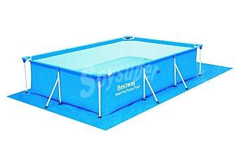 Bestway Tapiz de 330x231 centímetros ideal para porteger de posibles pinchazos del liner de las piscinas cuadradas sobre el suelo 1 unidad