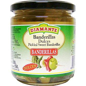 Conservas Diamante Banderillas dulces Frasco 360 g