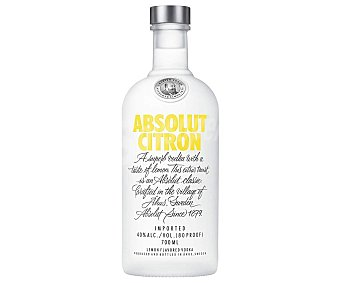 Absolut Vodka Vodka citron Botella 70 cl
