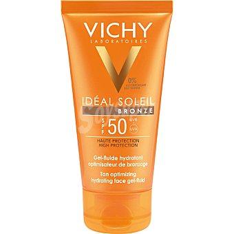 Vichy Protector solar facial en gel-fluido Bronze SPF 50 Ideal Soleil Tubo 50 ml