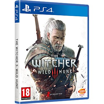 PS4 Videojuego The Witcher 3: Wild Hunt Day One Edition para PS4