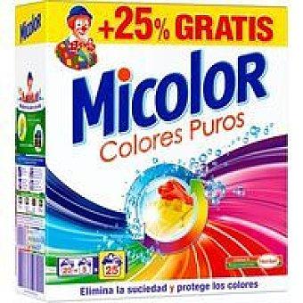 Micolor Detergente en polvo Maleta 20+5 dosis