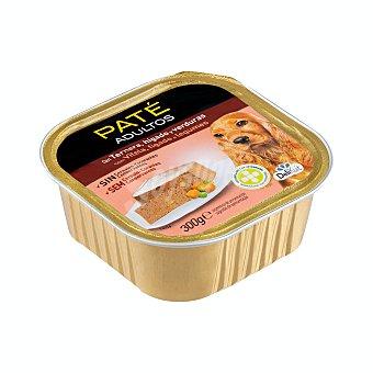 Delikuit Comida perro paté ternera, hígado y verduras adulto razas medianas y grandes Tarrina 300 g