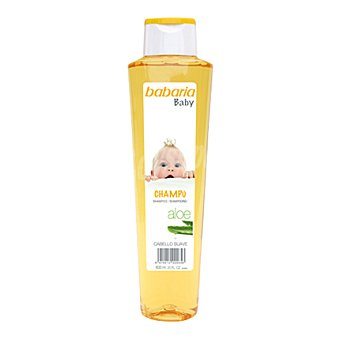 Babaria Baby Champú Aloe 600 ml