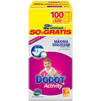 Dodot Activity Pañal Activity Talla 4 9-15kg 100 unidades