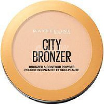 Maybelline New York Polvos bronceadores city bronce 100 claro pack 1 ud