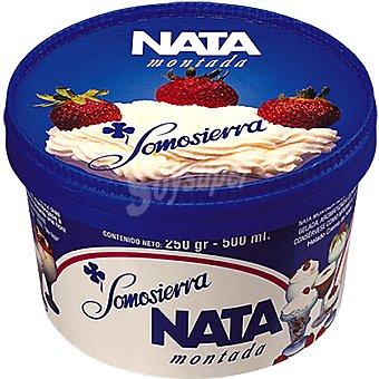 Somosierra Nata montada cremosa para postres Tarrina 500 ml