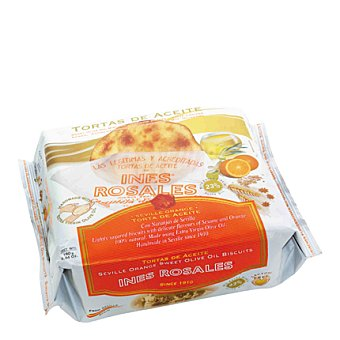 Ines Rosales Torta de aceite de oliva con naranja 6 ud