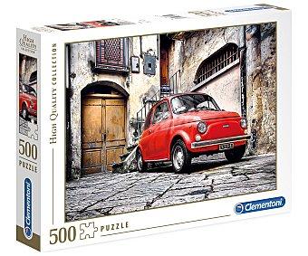 Clementoni Puzzle Coche rojo con 500 piezas, High Quality Collection clementoni.