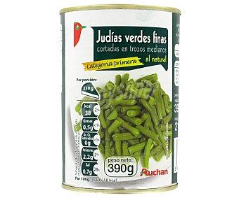 Auchan Judías verdes finas Lata de 210 grs