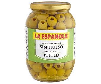 La Española Aceitunas verdes sin hueso Tarro 495 g